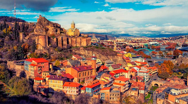 Город Тбилиси в грузии