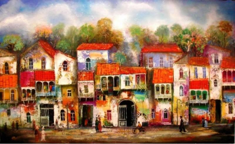 картина о городе